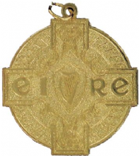 Gold 50mm Budget GAA Medal